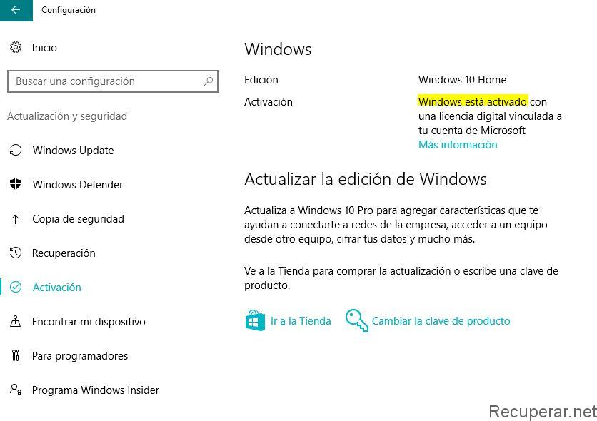 como saber si windows es original